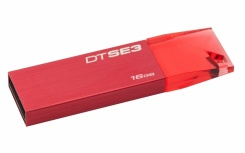 Memoria USB Kingston DataTraveler SE3, 16GB, USB 2.0, Rojo