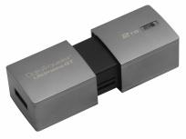 Memoria USB Kingston DataTraveler DTUGT, 2TB, USB 3.0, Plata