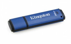 Memoria USB Kingston DataTraveler Vault Privacy, 32GB, USB 3.0, Encriptación de 256 bits, Azul