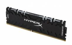 Memoria RAM HyperX Predator RGB DDR4, 2933MHz, 8GB, Non-ECC, CL15, XMP