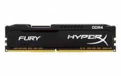 Memoria RAM HyperX FURY Black DDR4, 2933MHz, 8GB, Non-ECC, CL17, XMP, Single Rank x8