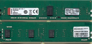 Memoria RAM Kingston DDR4, 2400MHz, 8GB, ECC, CL17
