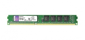 Memoria RAM Kingston DDR3, 1333MHz, 4GB, CL9, Non-ECC, Single Rank x8