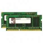 Kit Memoria RAM Kingston DDR3, 1333MHz, 8GB (2 x 4GB), CL9, Non-ECC, SO-DIMM, Single Rank x8