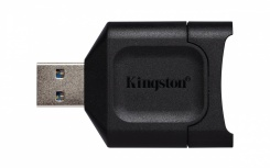 Kingston Lector de Memoria MLP, SD, USB 3.2, Negro