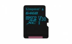 Memoria Flash Kingston Canvas Go!, 64GB MicroSDXC UHS-I Clase 10
