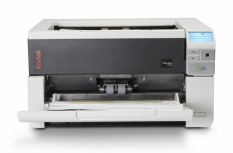 Scanner Kodak i3200, 600 x 600 DPI, Escáner Color, Escaneado Dúplex, USB 3.0, Negro/Gris