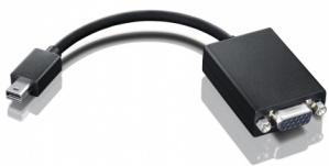 Lenovo Adaptador mini-DisplayPort Macho - VGA Hembra, Negro