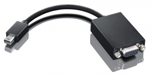 Lenovo Adaptador mini-DisplayPort - VGA, Negro