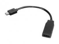 Lenovo Adaptador Mini DisplayPort Macho - HDMI Hembra, 20cm, Negro
