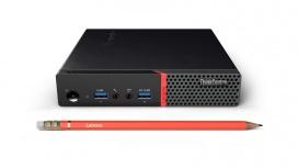 Mini PC Lenovo M715 Tiny, AMD A10-9700E 3GHz, 4GB, 1TB, Windows 10 Pro 64-bit