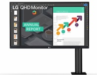 Monitor Gamer LG 27QN880-B LCD 27
