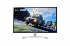 Monitor Gamer LG 32UN500-W LED 32'', 4K Ultra HD, Widescreen, FreeSync, HDMI, Bocinas Integradas (2 x 5W), Negro/Blanco