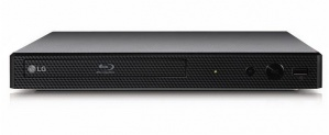 LG BP255 Blu-Ray Player, Full HD, HDMI, USB 2.0, Externo, Negro