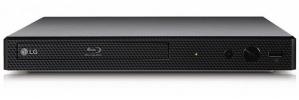 LG BP350 Blu-Ray Player, Full HD, HDMI, WiFi, USB 2.0, Externo, Negro
