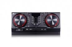 LG CJ44 Mini Componente, Bluetooth, 480W RMS, 2x USB 2.0, Karaoke, Negro