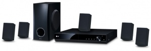 LG Home Theater DH4130S, 5.1, 330W RMS, HDMI, DVD Player Incluido