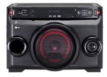 LG OM4560 Mini Componente, Bluetooth, 220W RMS, USB 2.0, Negro