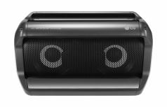 LG Bocina Portátil PK5, Bluetooth, Alámbrico/Inalámbrico, Negro Resistente al Agua