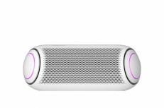 LG Bocina Portátil XBOOM Go PL7, Bluetooth, Inalámbrico/Alámbrico, 2.0, 30W RMS, USB, Blanco