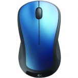 Mouse Logitech Óptico M310, Inalámbrico, USB, 1000DPI, Azul