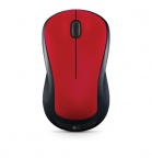 Mouse Logitech Óptico M310, Inalámbrico, USB, 1000DPI, Negro/Rojo