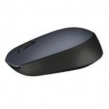 Mouse Logitech Óptico M170, Inalámbrico, USB, Negro/Gris