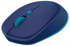 Mouse Logitech M535, Bluetooth, Inalámbrico, Azul