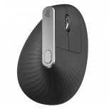 Mouse Logitech Óptico MX Vertical, RF Inalámbrico, Bluetooth, 4000DPI, Negro