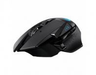 Mouse Logitech Óptico G502 Hero Ligthspeed, Inalámbrico, USB, 16000DPI, Negro