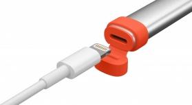 Logitech Crayon Lápiz Digital para iPad, Plata/Naranja