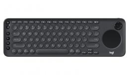 Teclado Logitech K600 TV, Inalámbrico, Bluetooth, Negro (Inglés)