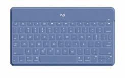 Teclado Logitech Keys-To-Go, Inalámbrico, Bluetooth, Azul (Inglés)