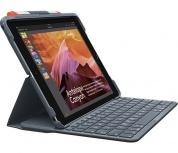 Logitech Funda con teclado para iPad 5ta y 6ta Generación, Negro