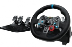 Logitech Kit Volante Driving Force G29, Alámbrico, USB 2.0, para PlayStation 3/4