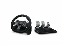 Logitech Volante G920 Racing Wheel, Alámbrico, USB 2.0, para PC/Xbox One