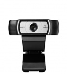 Logitech Webcam con Micrófono C930e, Full HD, 1920 x 1080 Pixeles, USB, Negro