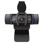 Logitech Webcam HD Pro C920s con Micrófono, Full HD, 1920 x 1080 Pixeles, USB 2.0, Negro