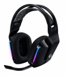 Logitech Audífonos Gamer G733 7.1 para PS4/PC, Inalámbrico, USB, Negro