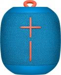 Logitech Bocina Portátil UE WONDERBOOM, Bluetooth, Inalámbrico, 2.0, USB, Azul - Resistente al Agua