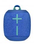 Logitech Bocina WONDERBOOM 2, Bluetooth, Inalámbrico, Azul - Resistente al Agua