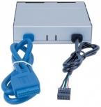 Manhattan Lector Tarjetas MultiCard, USB 2.0/3.0, Negro/Gris