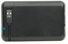 Manhattan Gabinete de Disco Duro 130042 para 2.5'', SATA, USB 2.0, Negro