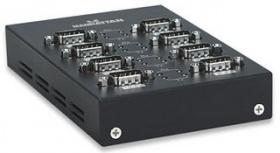 Manhattan Convertidor USB - Serial, 8 Puertos RS-232, Negro