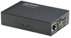 Manhattan Extensor de Audio y Video hasta 300m, VGA Cat5/5e/6