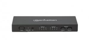 Manhattan Video Splitter HDMI, 6x HDMI, Negro