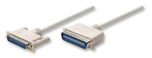 Manhattan Cable para Impresora, DB25 Macho - CEN36 Macho, 1.8 Metros, Blanco