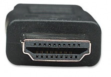 Manhattan Cable HDMI de Alta Velocidad, mini HDMI Macho - HDMI Macho, 3D, 1.8 Metros, Negro