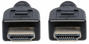 Manhattan Cable HDMI Macho - HDMI Macho, 3 Metros, Negro