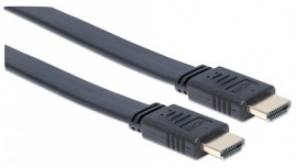 Manhattan Cable HDMI Macho - HDMI Macho, 7.5 Metros, Negro